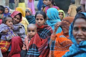 ICDS, på hindi kalt Angangwadi, i Jalalpur. Her bor det 60-70 barn under seks år.